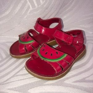 Gymboree strawberry sandals shoes girls toddler 5